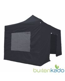 pro easy up tent 3x4,5 meter zwart