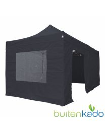 pro easy up partytent 3x6 meter zwart