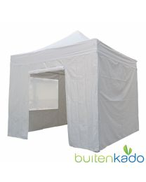 ultimate easy up partytent 3x3 meter lichtgrijs
