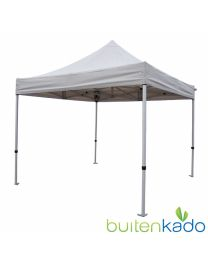 Ultimate easy up partytent 3x3 meter zonder zijwanden