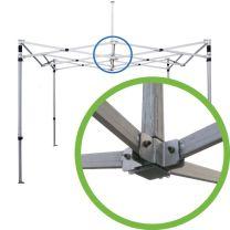 centraal koppelstuk easy up tent aluminium ultimate
