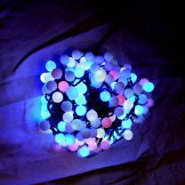 led lichtsnoer gekleurde lampjes wisselend