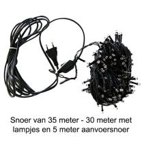 Led-lichtsnoer 30 meter lengte met 300 led-lampjes