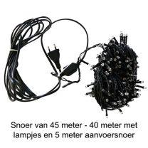Led-lichtsnoer 40 meter lengte met 400 led-lampjes