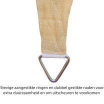 Schaduwdoek 4/5x3 meter