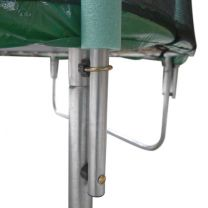 Trampoline 244 cm classic, met veiligheidsnet