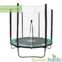 trampoline 244 Jolly Jump klittenband beschermrand