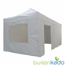 ultimate easy up partytent 3x6 meter lichtgrijs