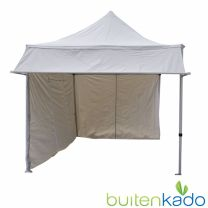 Easy up partytent 2,7x4 meter met luifel