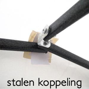 stalen koppeling easy up tent